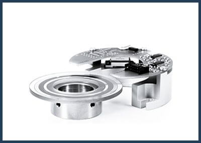 Encoder disc hub
